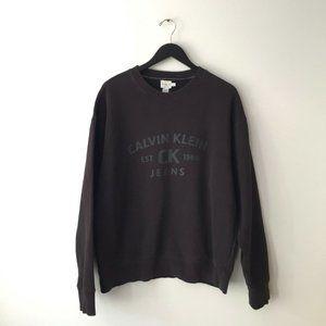 90s Vintage Calvin Klein Jeans Graphic Sweatshirt